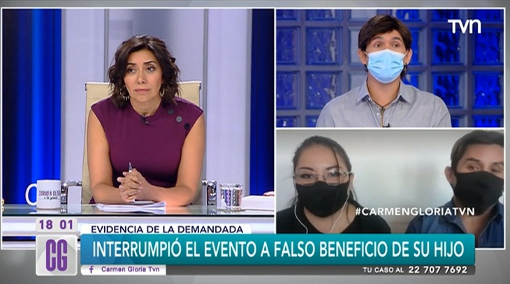 Carmen Gloria indignada por hombre que demandó a su mujer por visitas