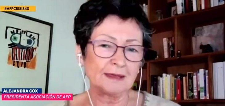 presidenta de las asociación de las AFP