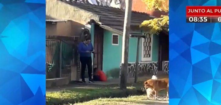 menor de edad golpeado en argentina