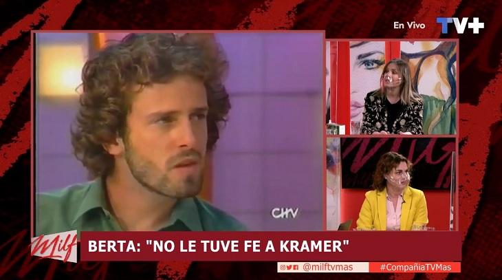 """Qué me dices? """"Ándate pa' la casa"""": Berta Lasala contó que rechazó a Kramer en 'Cuánto vale el show'"""