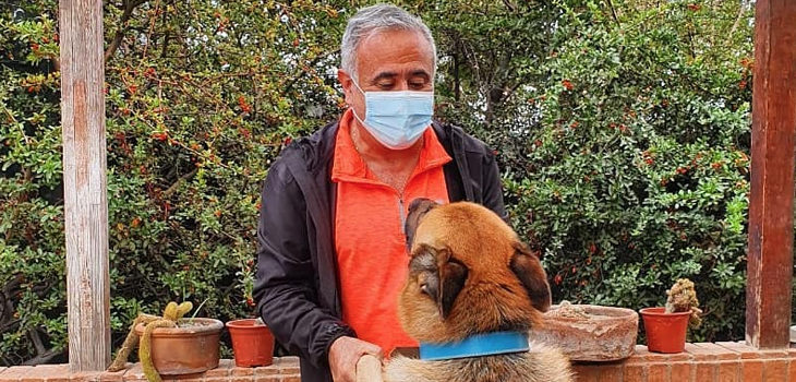 Dr. Ugarte llama a pasar tiempo con mascotas