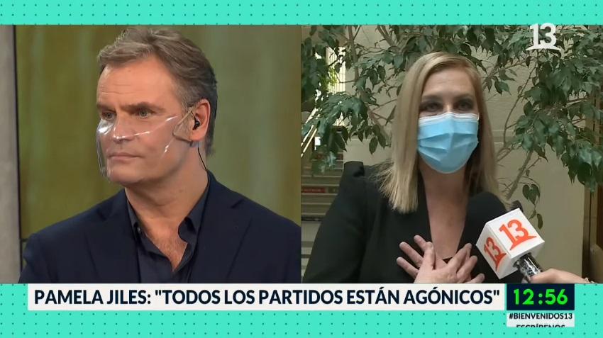 Amaro Gómez-Pablos y Pamela Jiles