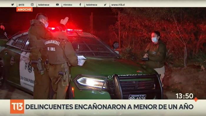 asalto Puente Alto