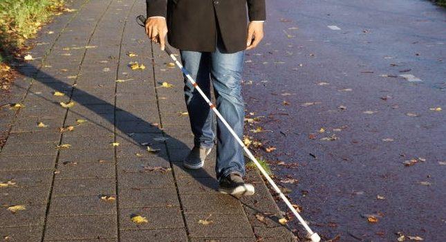 Bastón para ciegos