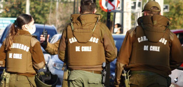 Carabineros asalto Puente Alto