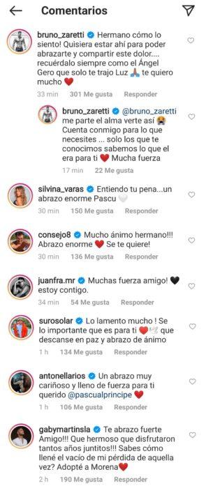 Comentarios Pascual