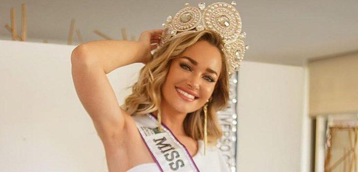 Daniela Nicolás llega a Miami para participar en el Miss Universo