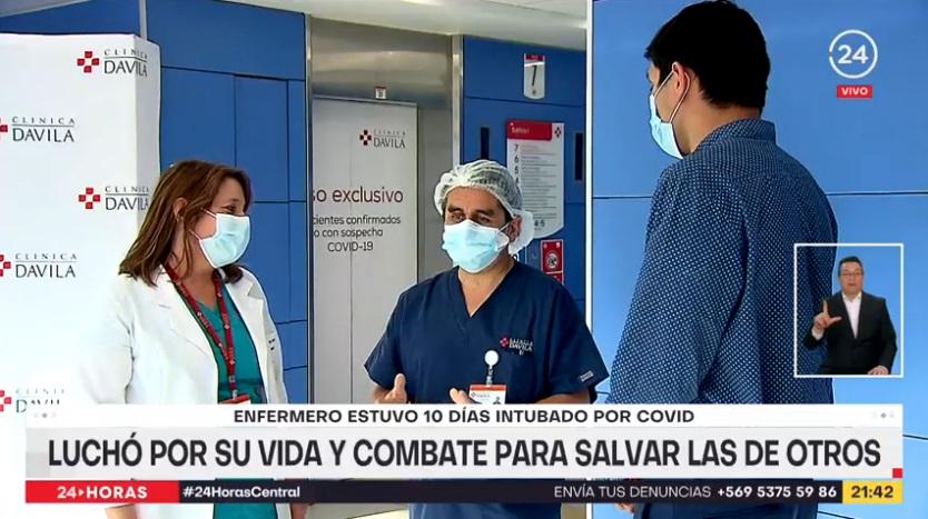 Enfermero Alfonso Cárcamo