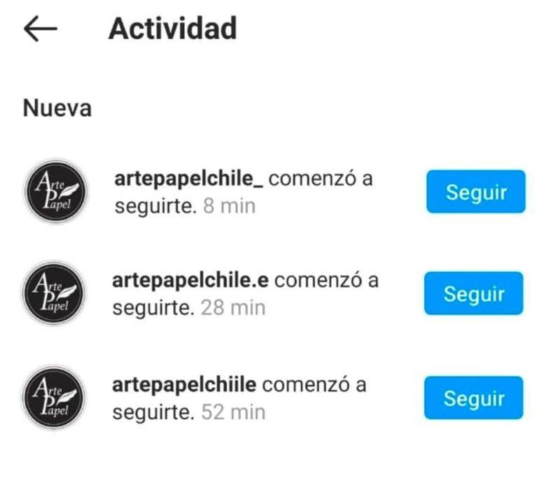 Estafa Instagram