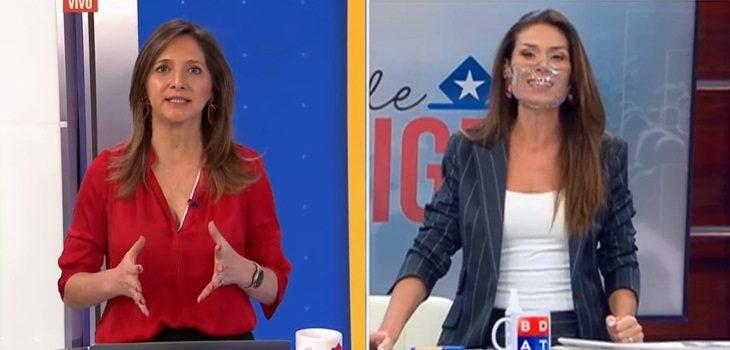 Mónica Pérez y Carola Escobar explican corte de transmisión de Pamela Jiles