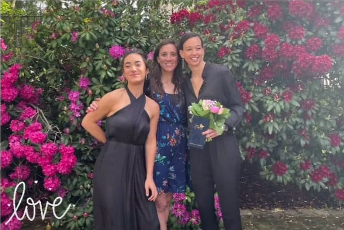 Tiane Endler se casó en Francia