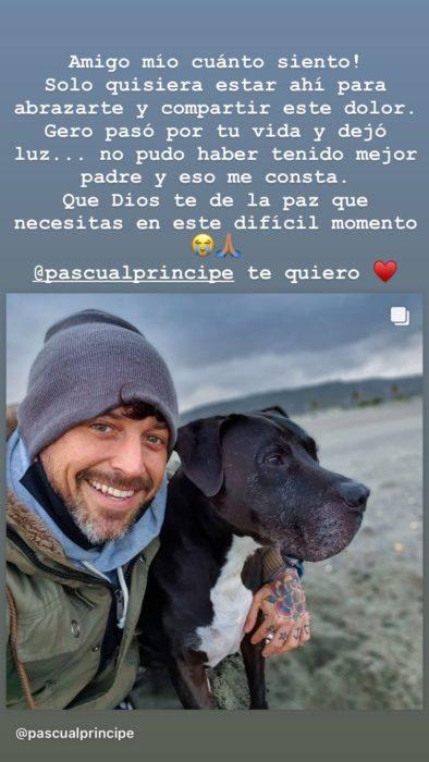 Bruno Zaretti mensaje a Pascual