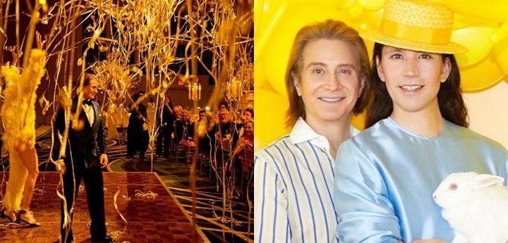 Di Mondo celebró con lujoso evento el cumpleaños 65 de su pareja Eric Javits