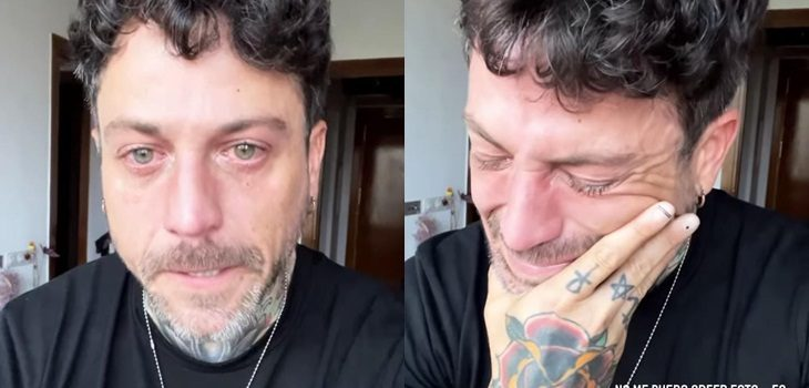 Pascual Fernández perdió a su perro Guero