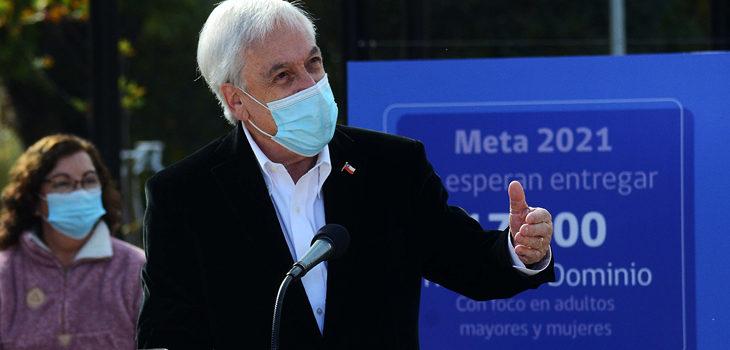 TALCA : Sebastia Piñera anuncia la regularización de la propiedad