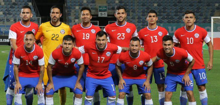 La roja Selección chilena