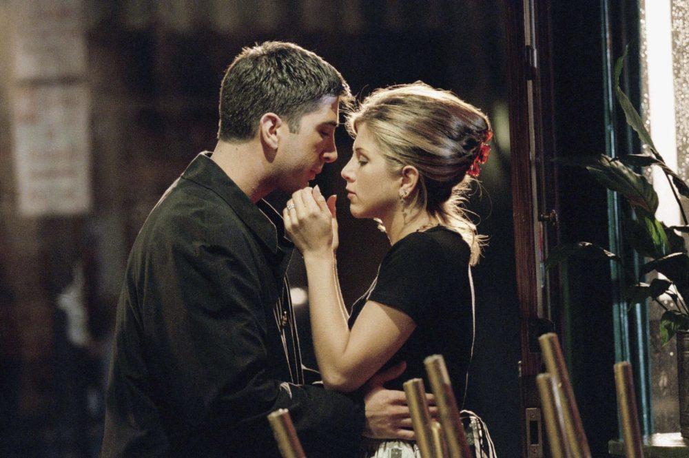 Beso Ross y Rachel