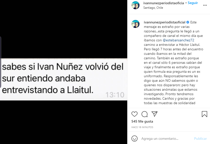 INSTAGRAM   IVÁN NÚÑEZ