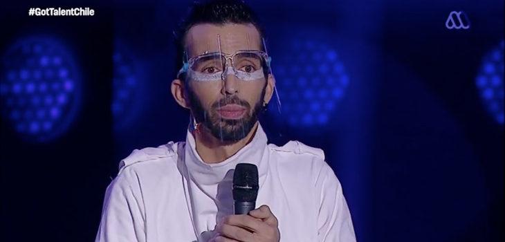 Artista de arena en Got Talent Chile