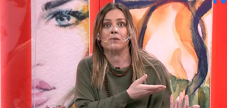 Claudia Conserva respondió tajante a quienes critican su forma de vestir