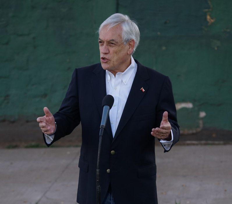 declaración Sebastián Piñera