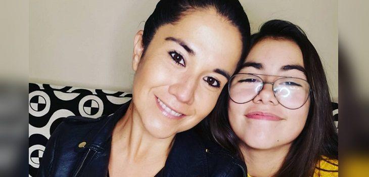 Hija de Carolina Soto ya tiene 13 años