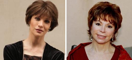 Daniela Ramírez e Isabel Allende