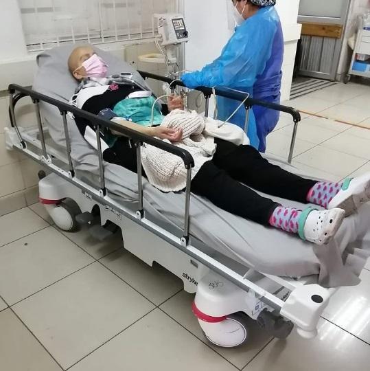 Mila Correa hospitalizada