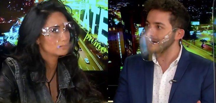 Pamela Díaz lanzó ácido comentario contra Hugo Valencia en Me Late Prime