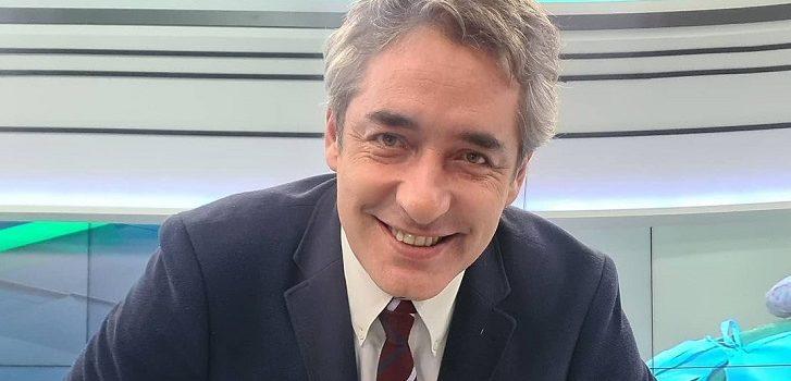José Luis Repenning extraño comportamiento en Meganoticias prime