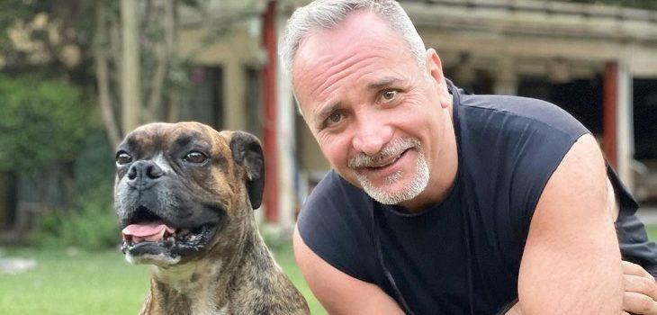 Luis Jara vivió emotivo encuentro con su perro Hulk
