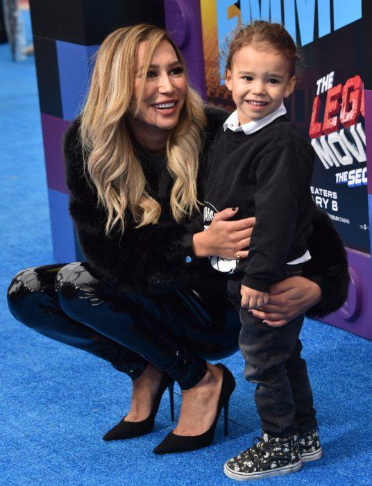 Naya Rivera y su hijo