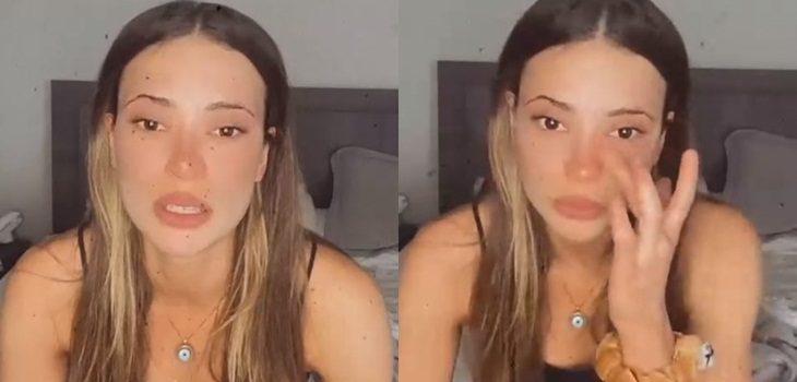 Julia Fernándes vive complejo momento familiar y regresa a Brasil