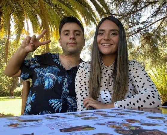 Daniela Muñoz y Pablo Yutronic