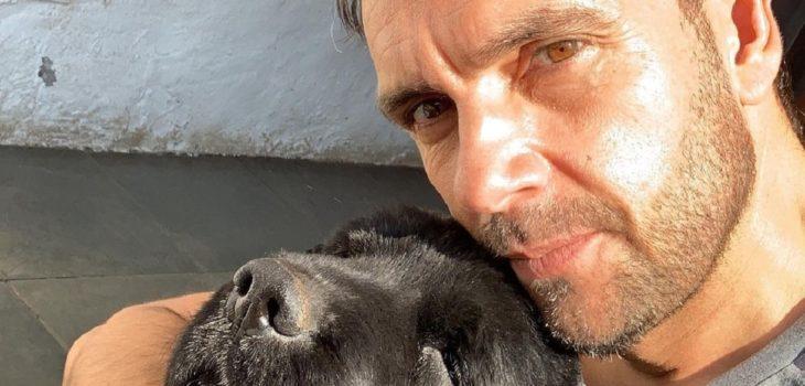 Rodrigo Sepúlveda lamentó el fallecimiento de su perro Lucas