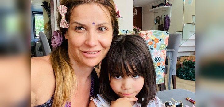 Savka Pollak actualizó estado de salud de su pequeña hija tras accidente doméstico