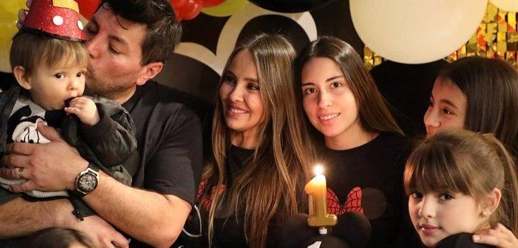 Paloma Aliaga celebró el primer cumpleaños de su hijo junto a Cristobal Valenzuela: Daniel también asistió