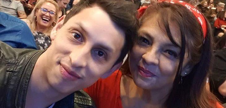 Tatiana Merino vivió emotivo reencuentro familiar