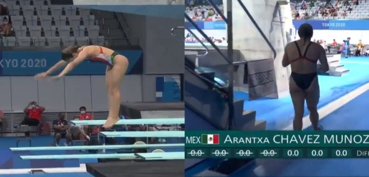clavado mexicana arantxa chavez
