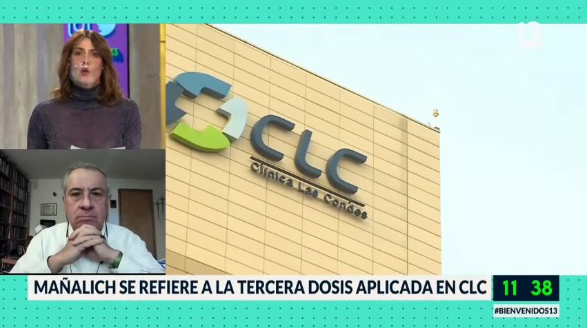 Jaime Mañalich en el Bienvenidos.
