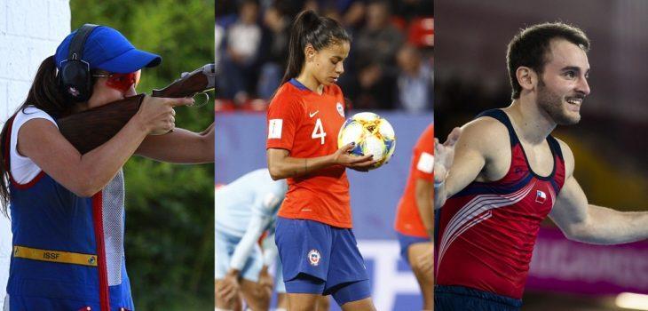 chilenos juegos olimpicos fin de semana