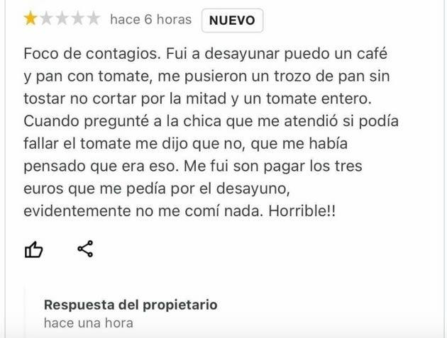 critica restoran