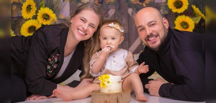 Eliana Albasetti y Federico Koch celebraron el cumpleaños de su hija Luján