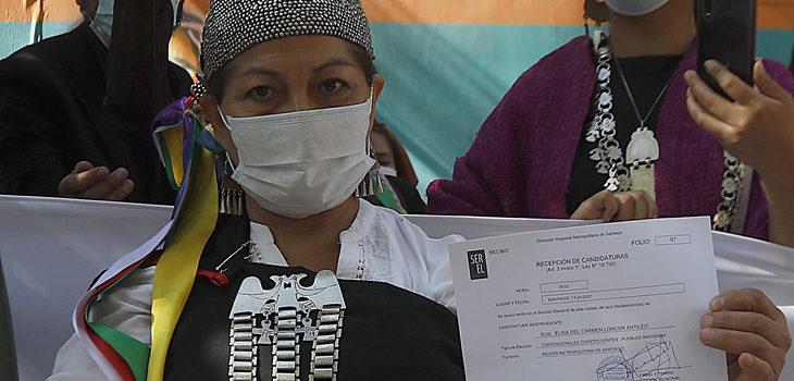Elisa Loncón | Agencia UNO