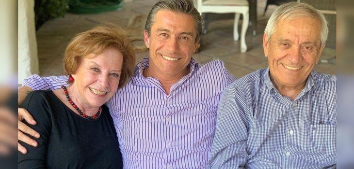 Fernando Solabarrieta escribió potente mensaje tras dar de alta a su padre