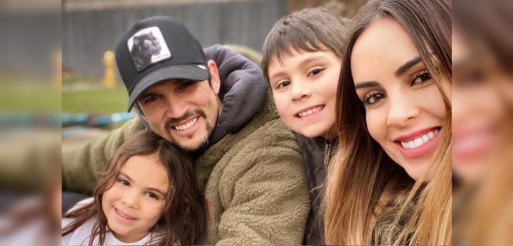 Maura Rivera y Mark González disfrutan de aparición de sus hijos en comercial