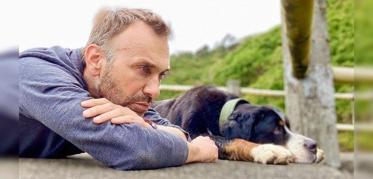 Jordi Castell afectado por atropello de su perro Marley en Chiloé