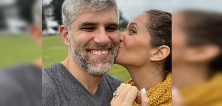 Manuel de Tezanos contrajo matrimonio con la periodista Camila Muñoz