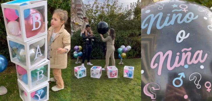 Marcelo Marocchino y Magui Benet revelaron en divertido video el sexo y nombre de su bebé