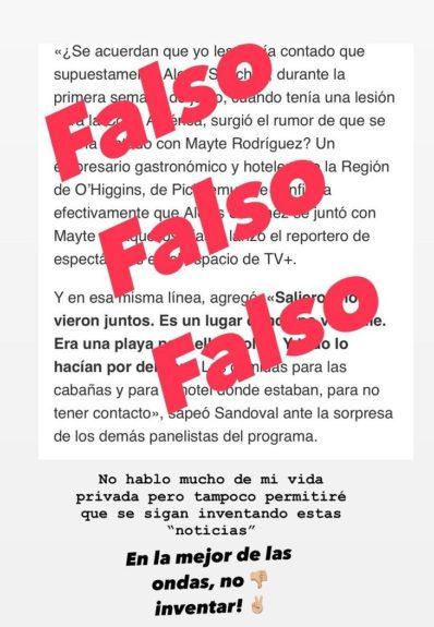 Mayte Rodríguez | Instagram